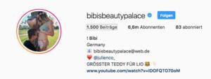 bibisbeautypalace instagram